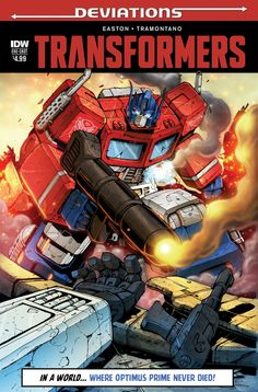 Transformers News: IDW Deviations Transformers - Interview with Brandon Easton and Priscilla Tramontano