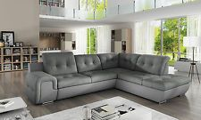 Sofa Couchgarnitur Couch Sofagarnitur GALAXY B Wohnlandschaft Schlaffunktion