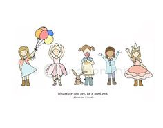Childrens Art Print  Nursery Art Print  GIRLS Kids by CinnamonInk, $30.00