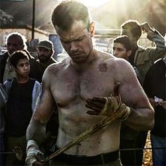 The Jason Bourne workout shows how Matt Damon got fit. For the movie, Matt Damon wanted to get bigger than ever before. Damon tapped personal trainer Jason Walsh to get in shape for the role.