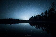 Silence. Photos of starry Finnish nights by Oscar Keserci Photography. | On bored panda.
