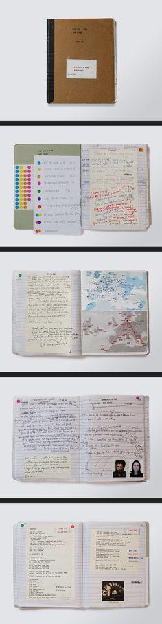 Nick Cave Notebook - Push The Sky Away