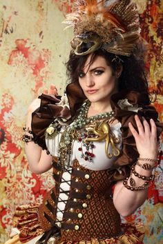epic steam punk outfit <<< it reminds me of steampunk and the bayou which is where I'm from Steampunk Couture, Steampunk Corset, Steampunk Design, Steampunk Clothing, Steam Girl, Steam Punk, Steampunk Fashion Women, Steampunk Photography, Damsel In This Dress