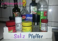 Obstkiste als Küchenhelfer / Fruit tray becomes kitchen organizer / Upcycling