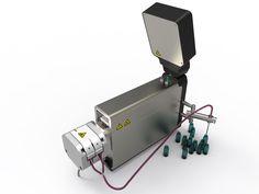Technofill Peristaltic Vial Filling Machine by C.E.King Limited, Chertsey United Kingdom.