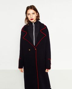 ZARA - WOMAN - MILITARY KNIT COAT