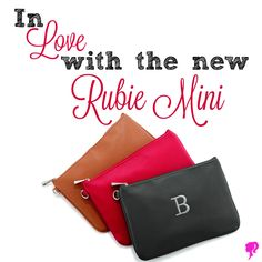The Rubie Mini is my favorite new Fall product from Thirty-One!! You can personalize this super cute and stylish bag! www.MommaNeedsaNewBag.com