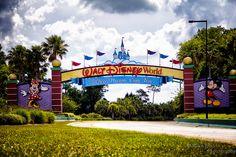The Entrance to Walt Disney Resort   Flickr - Photo Sharing!