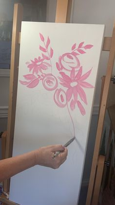 Making the first marks of a painting Painting Tips, Layers, Videos, Floral, How To Make, Art, Shop Signs, Layering, Art Background