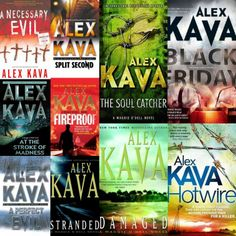 """Alex Kava's """"Maggie O'dell"""" psychological series."""