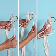 Macramé Plant Hangers Step by Step Instructions