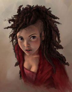portrait of a girl II by `DanielaUhlig on deviantART
