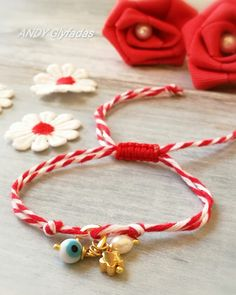 Handmade jewellery  March bracelets ☀