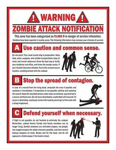 Watch out for the signs! If nothing else, they will be a nice reminder of your near death experience.