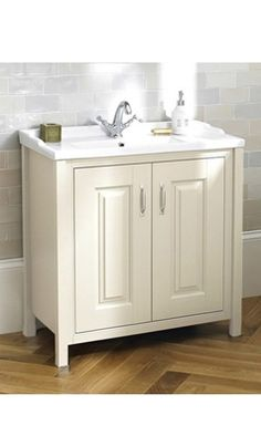Old London Ivory Traditional Freestanding Vanity Unit & Basin Freestanding Vanity Unit, Old London, Vanity Units, Bathroom Furniture, The Unit, Ivory, Traditional, Country, Kitchen