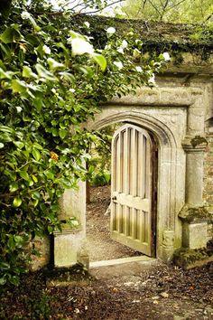 Secret Garden entrance.