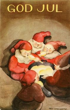 Milly Xmas Cards, Sweden, Scandinavian, Artists, God, Christmas, Painting, Christmas E Cards, Dios