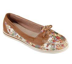 Sapato mocassim - 216001 Bottero #sapato #mocassim #floral