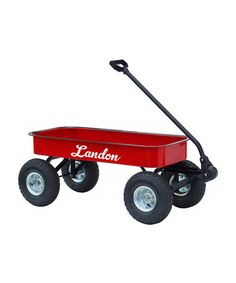 Another great find on #zulily! Red Personalized Wagon #zulilyfinds