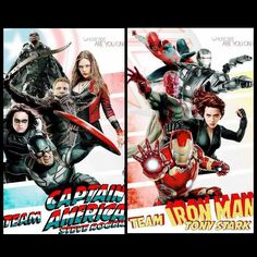Whose side are you on ? Team Captain America or Team Iron Man ? Captain America: Civil War