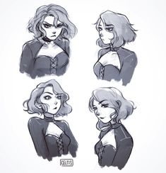 33 ideas for how to draw manga character design artworks Character Design Cartoon, Cartoon Art Styles, Fantasy Character Design, Character Drawing, Character Design Inspiration, Character Concept, Character Design Animation, Concept Art, Arte Sketchbook