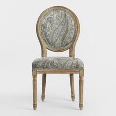 Dove Paisley Paige Round Back Dining Chairs Set Of 2
