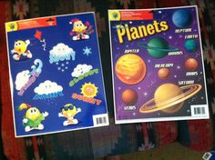 "2 Reusable Window Clings""Planets Weather""Great Educational Resources 