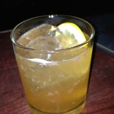 Smokey Mountain Cocktail at Williams & Graham (Denver) - Scotch & Mezcal!