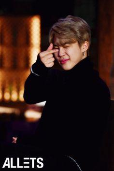 Jimin ❤ BTS 'Lets Share The Heart' Campaign (BTS x ALLETS) #BTS #방탄소년단