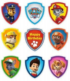 Free Printable Paw Patrol Photo Booth Props More from my siteFree printables for Paw Patrol party.Kid's Inspiration Photo of Paw Patrol Birthday Cake IdeasPaw Patrol Birthday Party Ideas Paw Patrol Cupcake Toppers, Paw Patrol Cupcakes, Paw Patrol Birthday Cake, 4th Birthday Parties, Birthday Fun, Birthday Ideas, Imprimibles Paw Patrol, Paw Patrol Badge, Paw Patrol Games