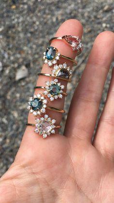 Sapphire Rings, Sapphire Stone, Diamond Rings, Diamond Cuts, Gemstone Rings, Alternative Engagement Rings, Halo Engagement Rings, Wedding Band, Wedding Rings