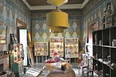 """shop interior of """"mixta"""" in san miguel"""
