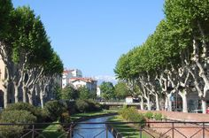Perpignan, France. I would actually like to live here someday.... <3