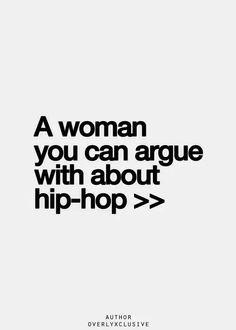 Hip hop girl (old school hip hop)
