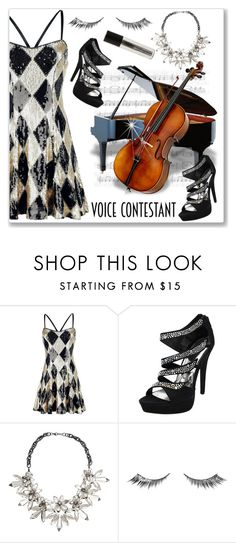 """TV Fashion: The Voice"" by andrejae ❤ liked on Polyvore featuring John Lewis, Urban Decay, thevoice and YahooView"