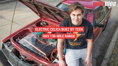 Teen Builds an Electric Celica