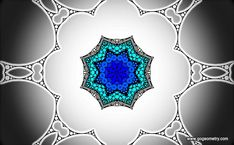 Geometric Art: Kaleidoscope of problem 2. iPad Apps