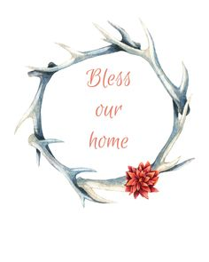 Bless our home Free Printable
