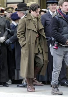 Behind the Scenes - Kit Harington (Roland Leighton) - Testament of Youth (2015) directed by James Kent