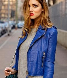 A good leather piece can up the cool factor of any outfit. Of course, the biker jacket will remain your fall staple, but don't stop at that! Here are 27 ultra-luxe looks to get you excited for leather!