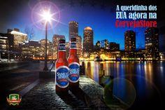 De Boston para o mundo, e agora na Cerveja Store, uma das cervejas preferidas dos norte-americanos: Samuel Adams! Garanta já a sua! Clique na imagem para ir ao site!