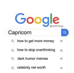 Not all Capricorn are workaholics and control freaks. Loyal, practical and somehow insecure, these funny Capricorn memes will reveal their true selves. Capricorn Quotes, Zodiac Signs Capricorn, Capricorn And Aquarius, Capricorn Compatibility, Pisces Horoscope, Astrology Signs, Horoscopes, Zodiac Memes, Zodiac Facts