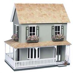 Laurel Dollhouse Kit Check out : missdollhouse.com