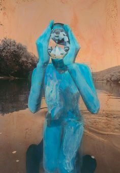 Photography layered with painting by Shae DeTar, Courtesy Steven Kasher Gallery & Kasher|Potamkin, New York