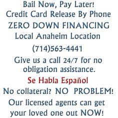 Bail bonds company in Anaheim, California