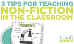 Teaching Common Core Non-Fiction – 3 Tips Reading lots of non-fiction books comes along with Common Core territory. You'll find that these non-fiction ideas wills help you cover common core standards in the primary grades in thematic units...