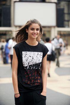 Taylor Marie Hill - New York Fashion Week Spring/Summer 2015.