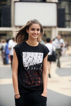 Taylor Marie Hill - New York Fashion Week Spring/Summer 2015.
