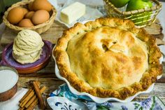 A dessert that everyone will love! Homemade Apple Pie by Mary Beth Evans! For more delicious recipes tune in to Home & Family weekdays at 10a/9c on Hallmark Channel!