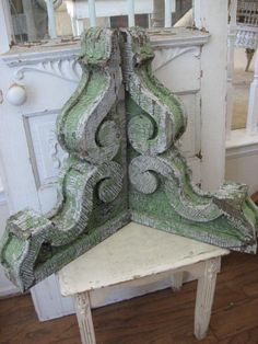 Decorating With Architectural Salvage Corbels - decoration,wood,wood working,furniture,decorating Farmhouse Decor, Decor, Architectural Salvage, Painted Furniture, Wall Decor, Salvaged Decor, Architectural Elements, Home Decor, Architectural Pieces